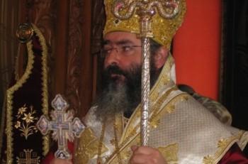 Επίσκοπος Αμαθούντος κ. Νικόλαος