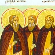 Μνήμη των Οσίων Ισαακίου, Δαλματίου και Φαύστου (3 Αυγούστου)